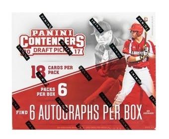 2017 Panini Contenders Draft Picks Baseball School Colors #3 Alex Faedo