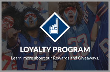 Loyalty Program: Learn more about our rewards and giveaways.